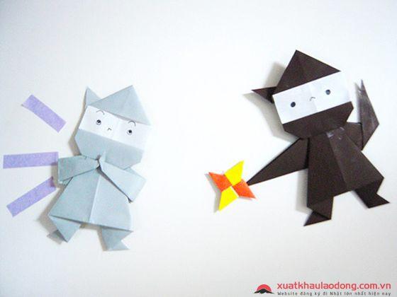 Những sản phẩm đơn giản qua nét gấp của Origami