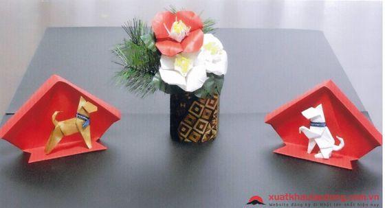 Những sản phẩm trang trí đẹp mắt Origami