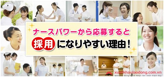 Ngành điều dưỡng rất phát triển tại Nhật Bản