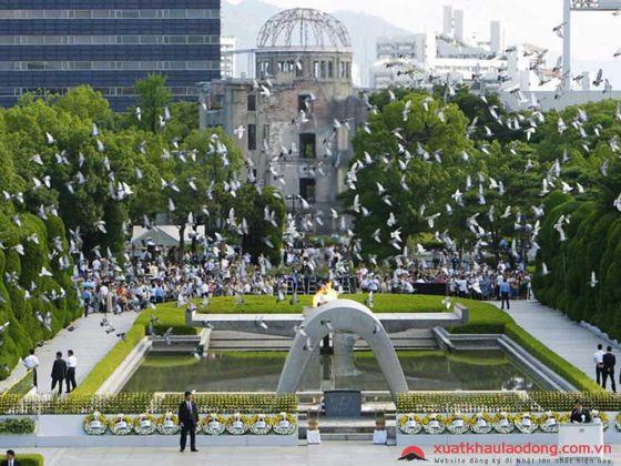 Khu tưởng niệm hòa bình Hiroshima - Genbaku Dome