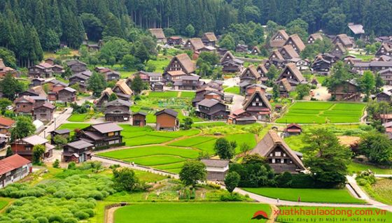 Làng lịch sử Shirakawa-go và Gokayama