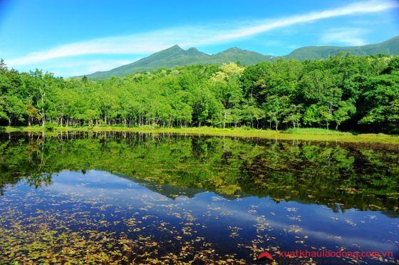 Quần thể 5 hồ nước Shiretoko Goko