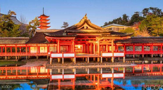 Đền Itsukushina