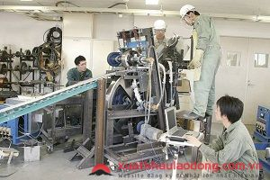 Tuyển 15 Nam/nữ đơn hàng gia công cơ khí tại Toyama, Nhật Bản