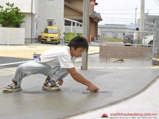 Tuyển GẤP 30 Nam láng sàn bê tông tại Fukuoka, Nhật Bản