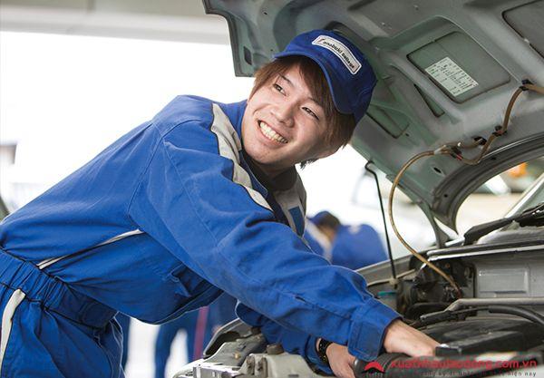 Đơn hàng tuyển 30 nam làm bảo dưỡng ô tô tại Oita, Nhật Bản