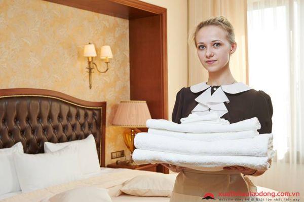 TUYỂN 90 Nữ nhân viên bộ phận buồng phòng tại khách sạn 5 sao ở Nhật Bản