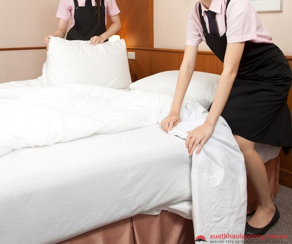 đơn hàng nhân viên khách sạn nhật bản