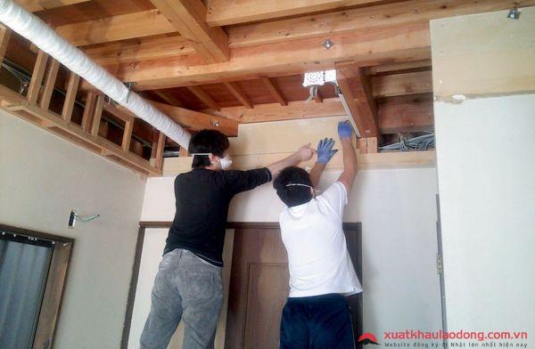 đơn hàng hoàn thiện nội thất tại Nhật Bản