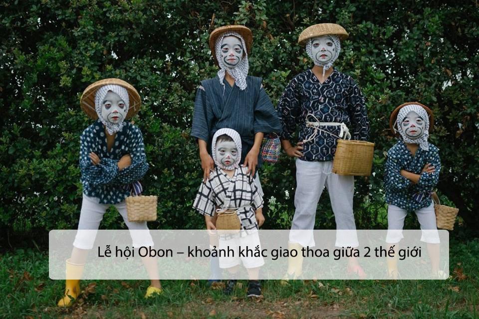 Lễ hội Obon – khoảnh khắc giao thoa giữa 2 thế giới