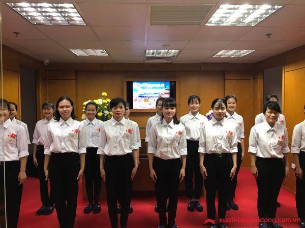 Thi tuyển đơn hàng 90 Nữ vệ sinh tòa nhà tại Tokyo, Nhật Bản