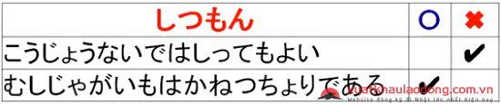 thi chuyển giai đoạn ở Nhật