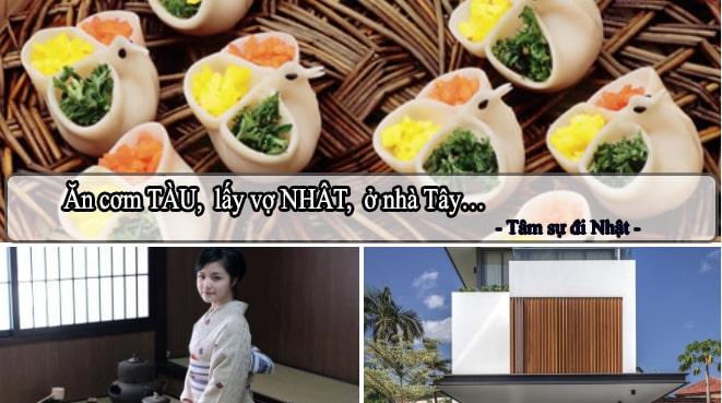 Bàn chuyện: Ăn cơm Tàu, lấy vợ Nhật, ở nhà Tây...