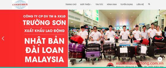 Công ty cổ phần Thương mại Dịch vụ và Xuất khẩu lao động Trường Sơn