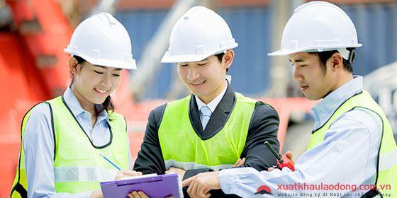 Tuyển 15 Nam đơn hàng kỹ sư Xây dựng KHÔNG TIẾNG tại Nhật Bản