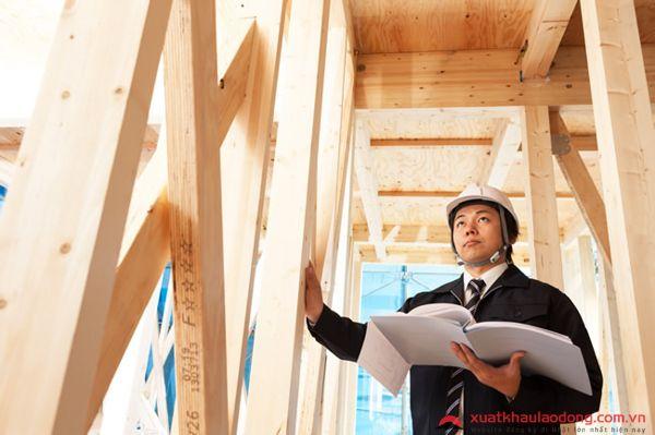 đơn hàng kỹ sư kiến trúc đi nhật