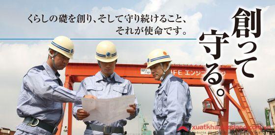 Đơn hàng Kỹ sư Cầu Đường đi Nhật