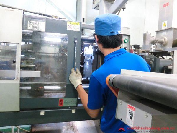 đơn hàng kỹ sư đúc nhựa đi nhật