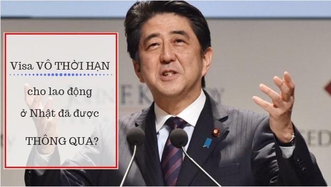 Lao động có thể gia hạn visa mới VÔ THỜI HẠN ở Nhật – dự luật mới đã được thông qua?