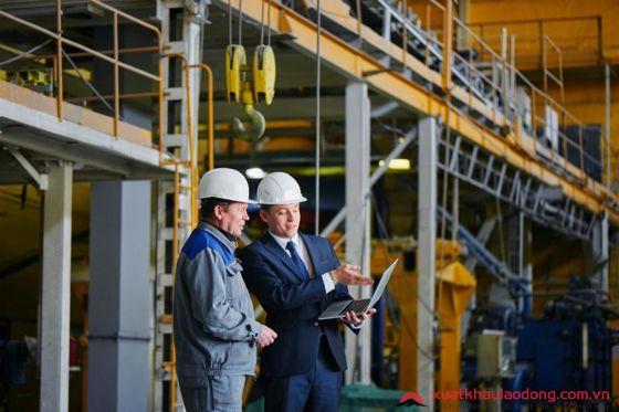 Xí nghiệp tiếp nhận đơn hàng kỹ sư chế tạo kim loại