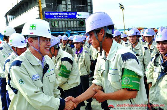 Hợp tác lao động Nhật Bản tại Bình Dương ngày càng sôi nổi