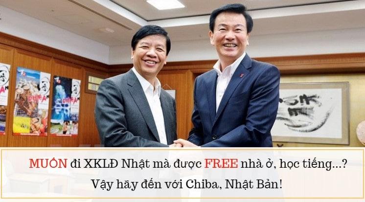 Hỗ trợ mạnh mẽ người Việt làm việc tại Chiba Nhật Bản nếu đi XKLĐ 2019 ngành này!