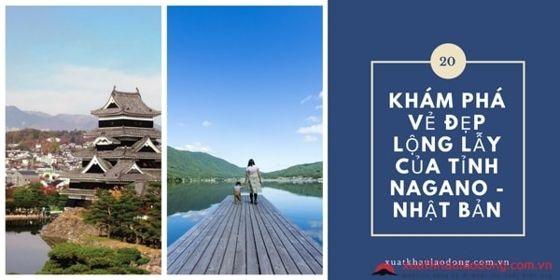 Khám phá vẻ đẹp lộng lẫy của tỉnh Nagano - Nhật Bản