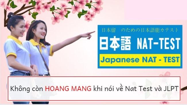 Bạn biết gì về Nat Test? Phân biệt kỳ thi tiếng Nhật Nat Test và JPLT
