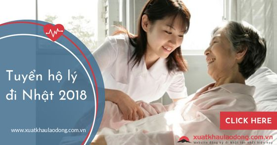 Xuất khẩu lao động Nhật Bản 2021 - Điều dưỡng, Hộ lý lên ngôi