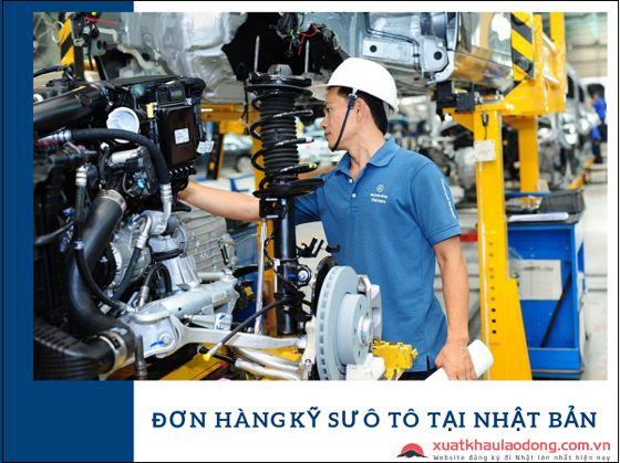 Tuyển 15 kỹ sư ô tô đi Nhật PHÍ THẤP tại Kanagawa, Nhật Bản