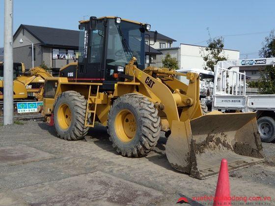 đơn hàng lái máy xây dựng tại nhật bản