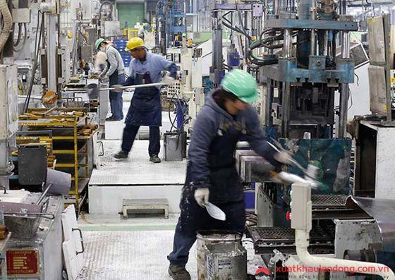 đơn hàng đúc kim loại tại Nhật Bản