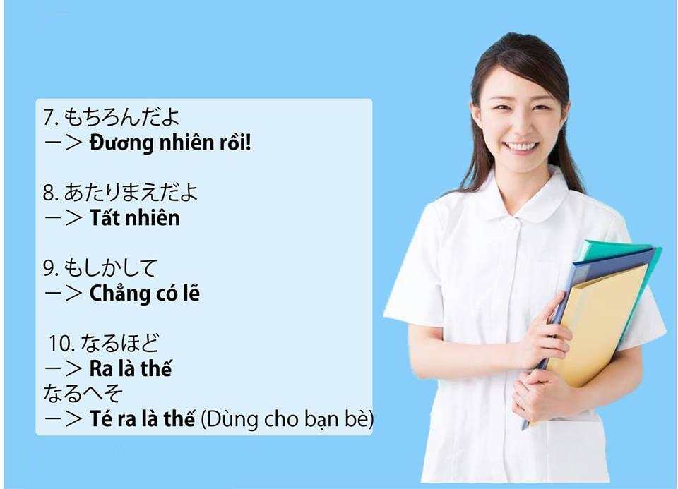 Mở mắt là mở mồm với 50 câu cửa miệng của người Nhật cực thông dụng!