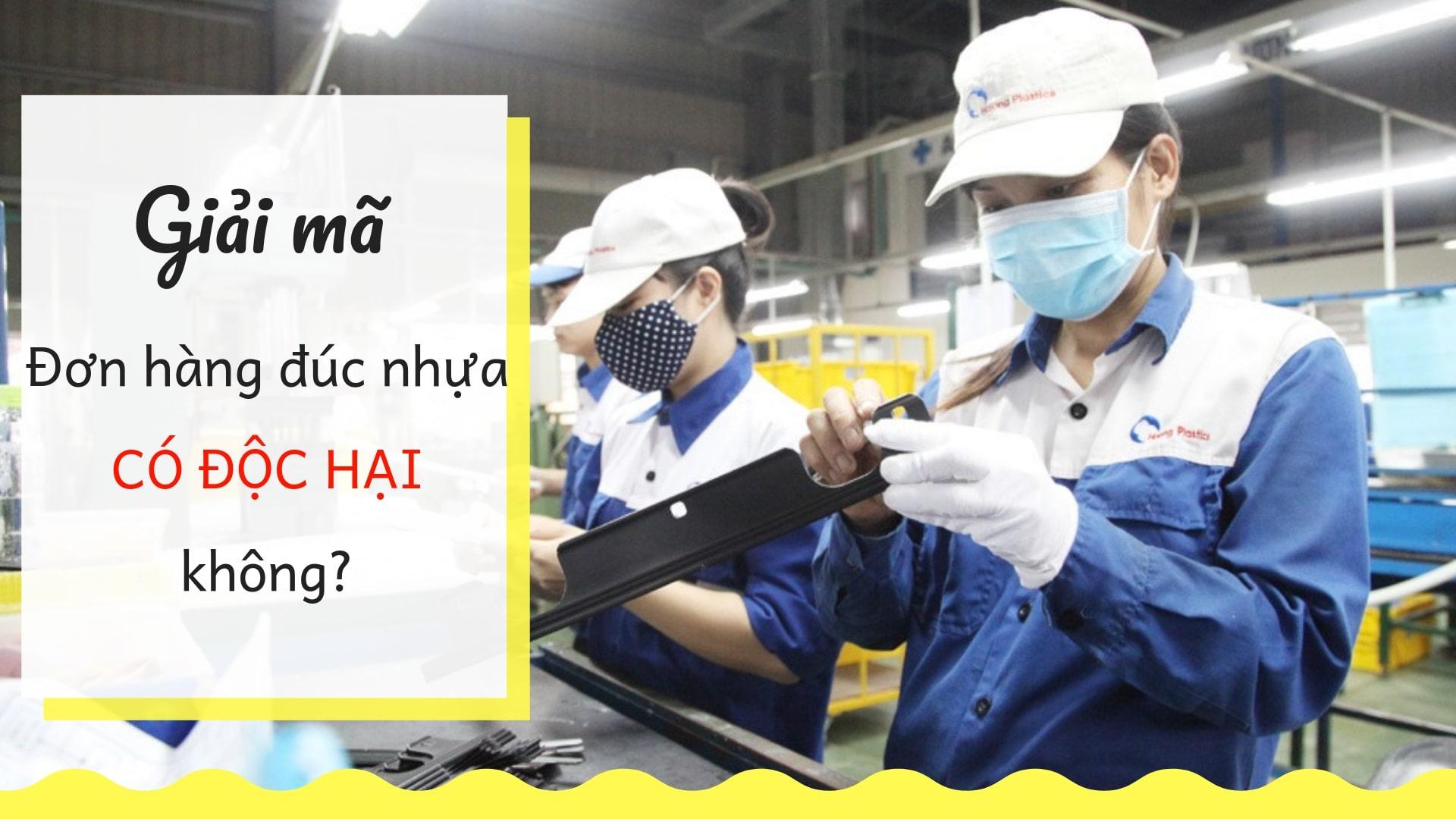 Đơn hàng đúc nhựa rất độc hại? Có nên đi XKLĐ Nhật Bản đơn hàng đúc nhựa không?
