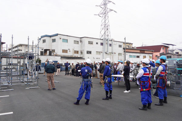Tuyển gấp 10 nam đơn hàng giàn giáo LƯƠNG SIÊU CAO 180.000 yên tại Kyoto