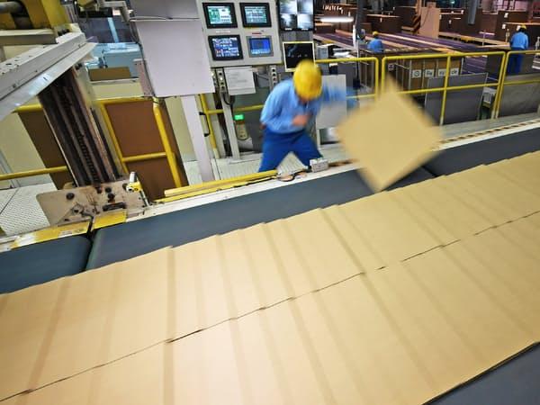 đơn hàng 15 nam sản xuất bìa cát tông lương 165,440 yên/tháng tại Hyogo