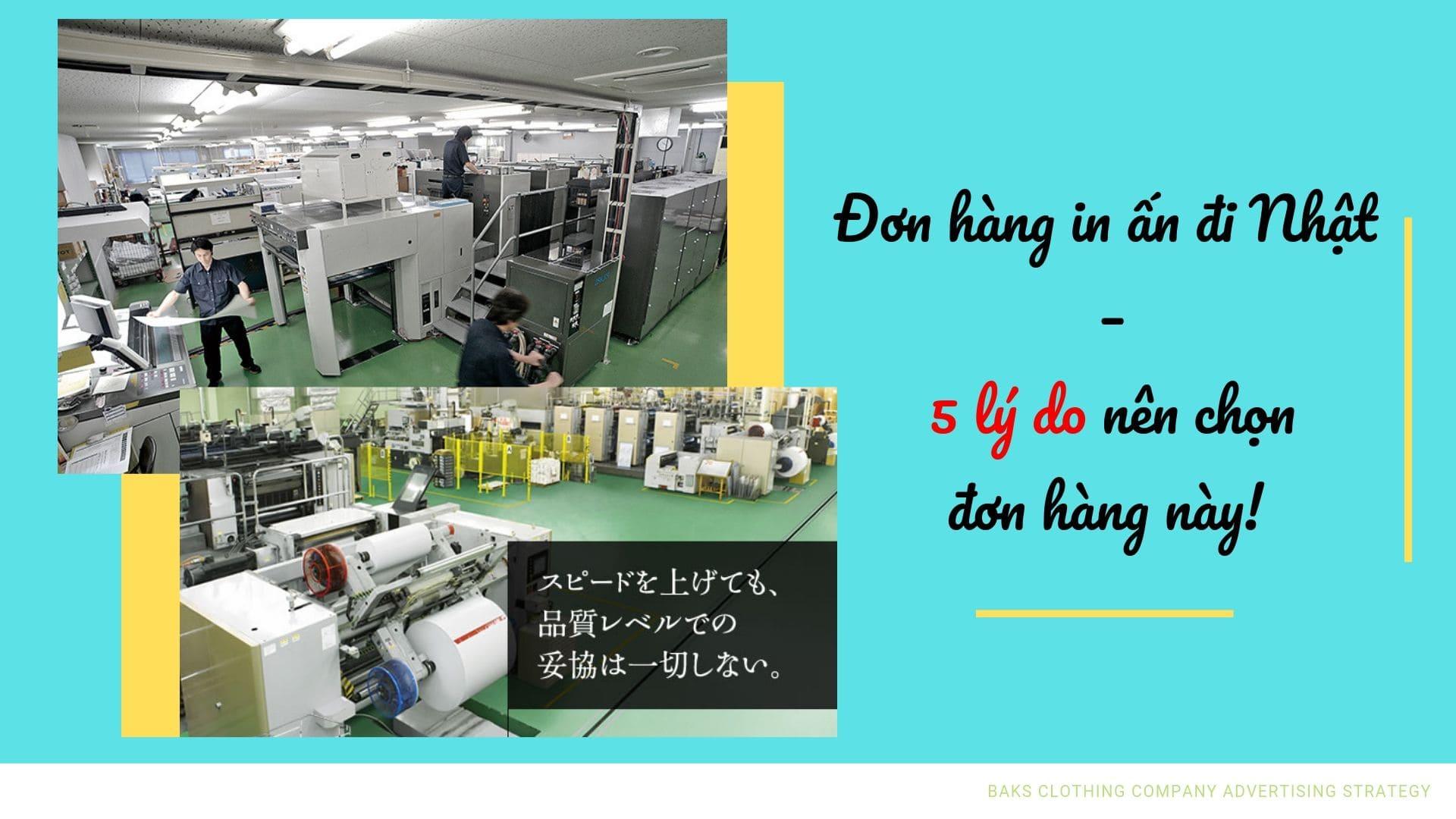 Đơn hàng in ấn Nhật Bản – 5 lý do nên chọn đơn hàng này!