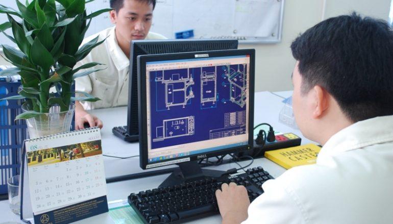 Đơn hàng kỹ sư vẽ Autocad đi Nhật