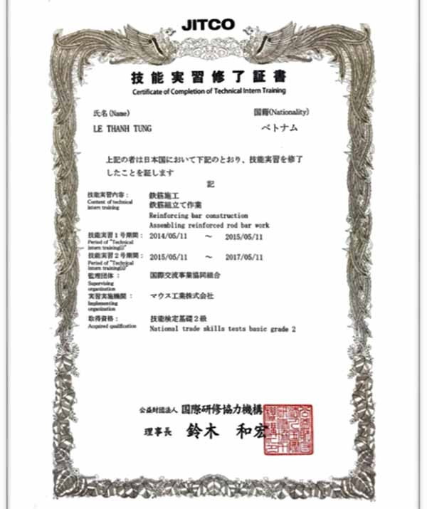MẤT giấy JITCO có thể xin visa đặc định được không?