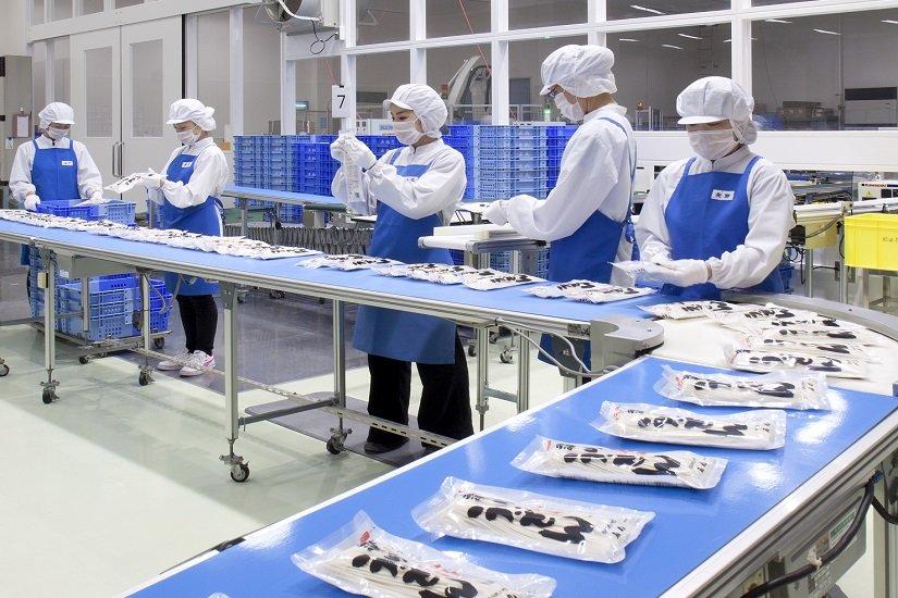 Đơn hàng chế biến và đóng gói mỳ ý tại Kagoshima