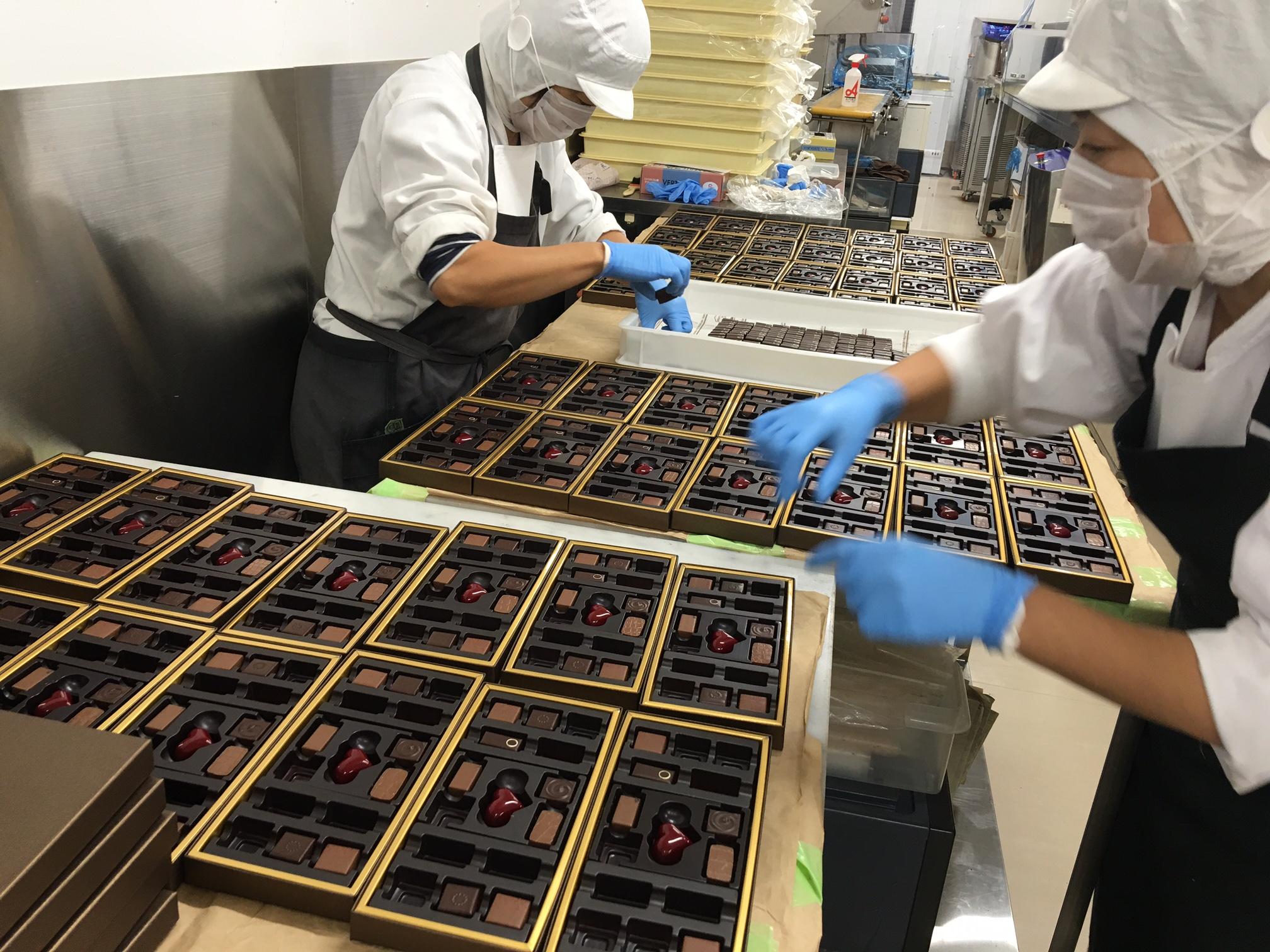 Đơn hàng 1 năm sản xuất socola LƯƠNG CAO, PHÍ THẤP tại Fukuoka