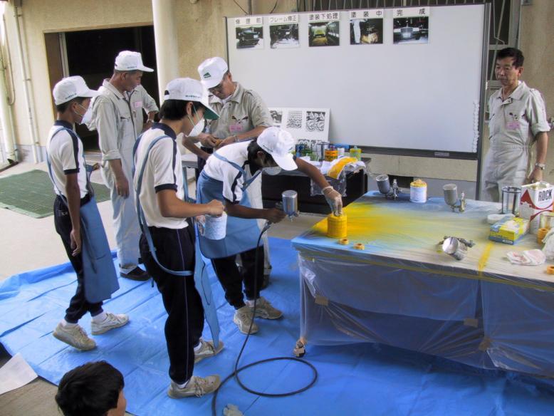 đơn hàng sơn kim loại tại Tochigi lương cao