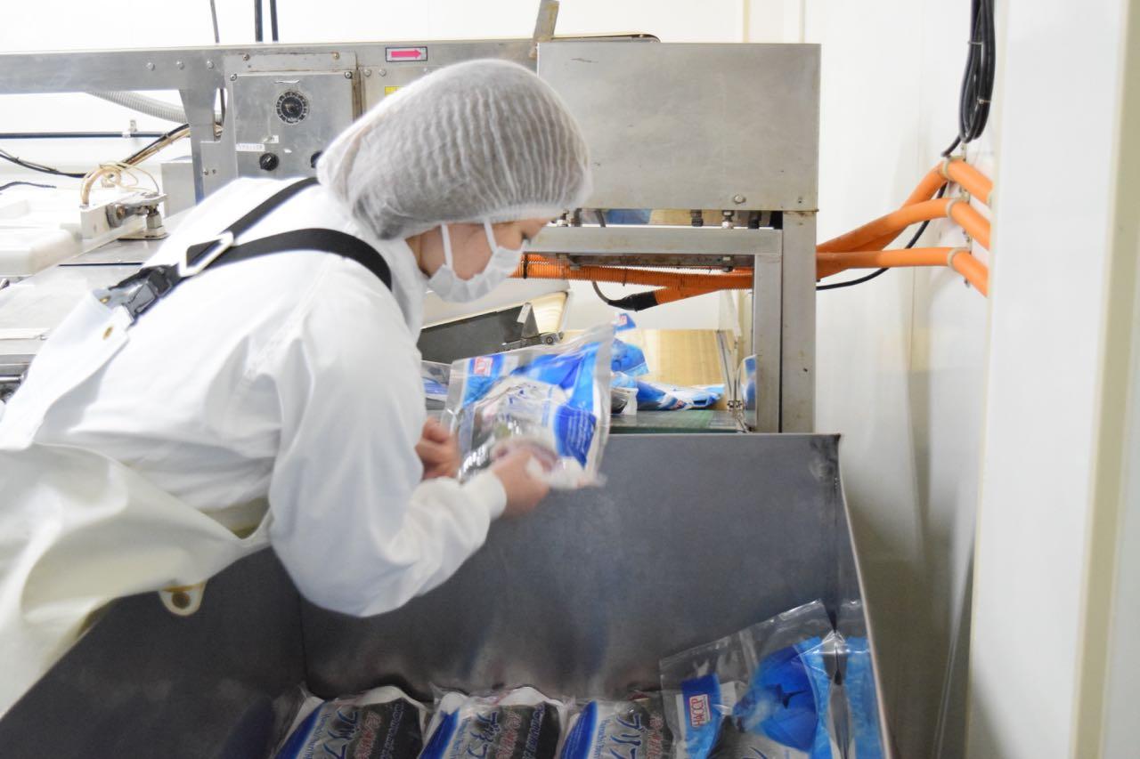 đơn hàng chế biến thủy sản tại Shimane