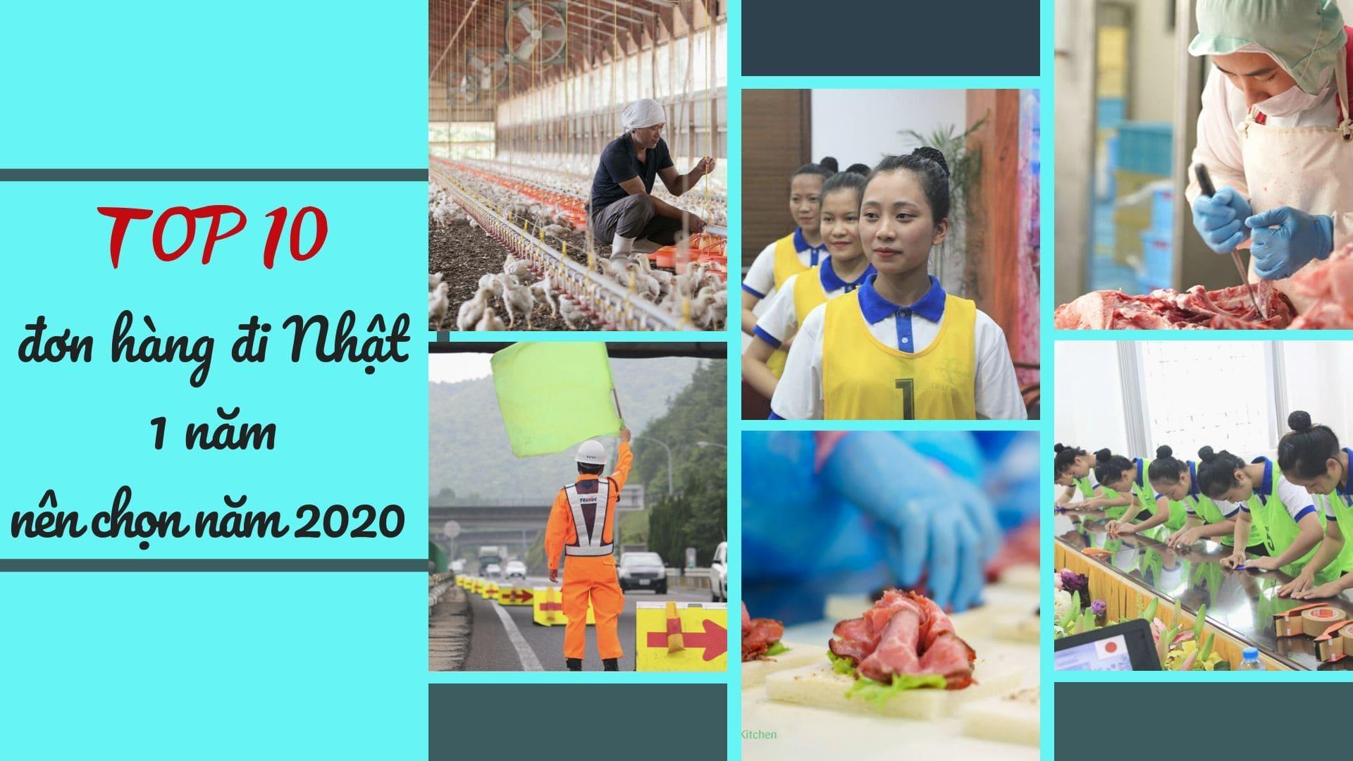 TOP đơn hàng đi Nhật 1 năm có mức lương cao nhất năm 2021