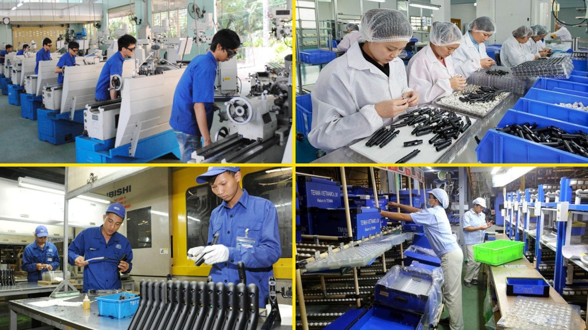 Tổng hợp các đơn hàng đặc định ngành cơ khí Nhật Bản lương cao năm 2021