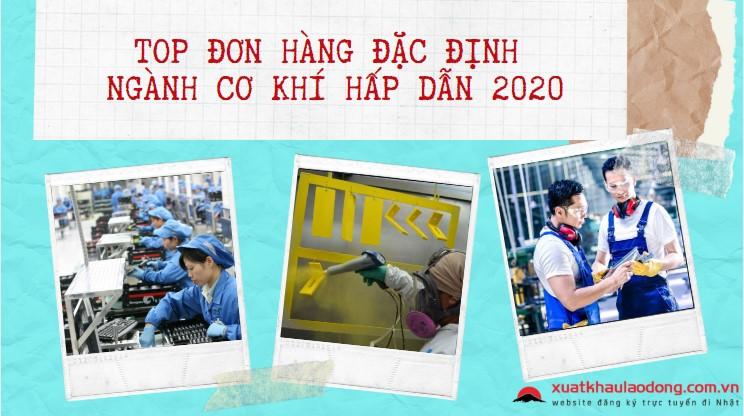 Top đơn hàng đặc định ngành cơ khí lương cao, dễ trúng tuyển năm 2020