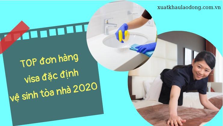 TOP đơn hàng đặc định ngành vệ sinh tòa nhà HOT NHẤT năm 2021