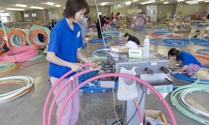 Đơn hàng sản xuất đường ống tại Yamaguchi, Nhật Bản