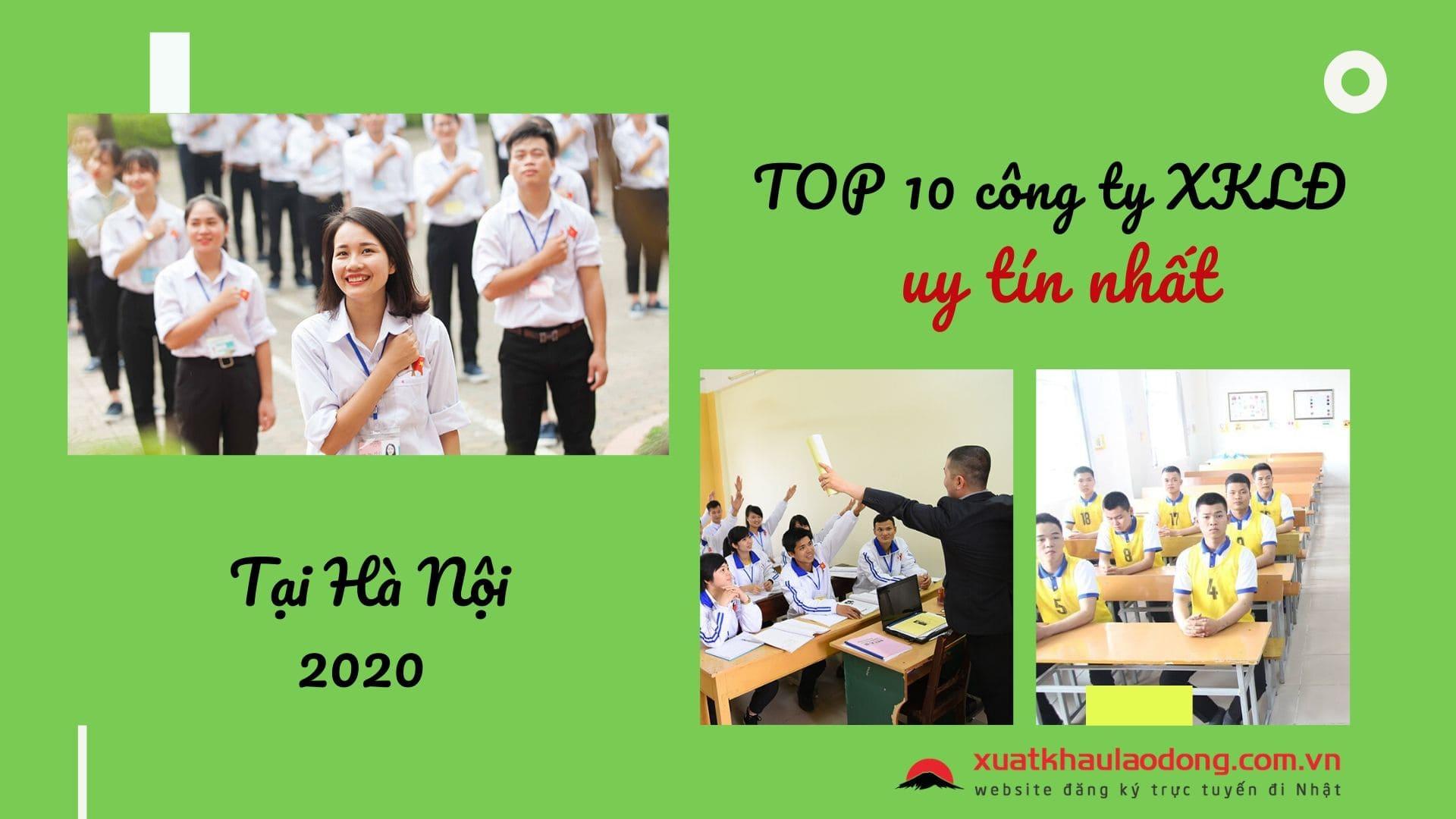 Đánh giá Top 10 công ty xuất khẩu lao động Nhật Bản tại Hà Nội