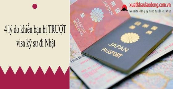 Không muốn TRƯỢT VISA kỹ sư đi Nhật phải chú ý 4 vấn đề sau!